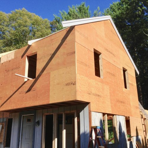 Whole house remodel-front (in progress)