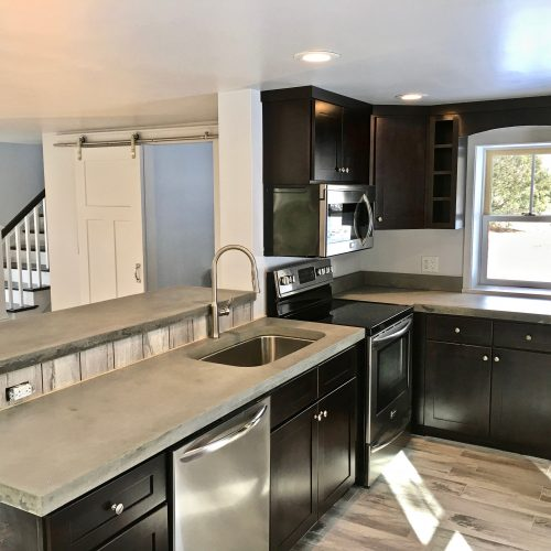 Whole house remodel-kitchen interior (after)