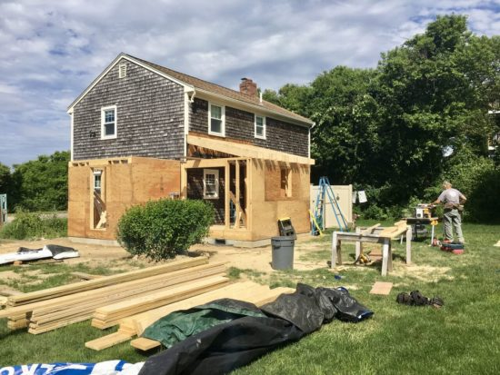 Plymouth New Addition & Remodeling Framing 2