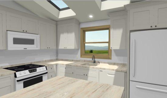3D Render for New Kitchen Remodel